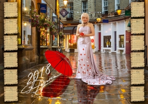 Календарь 2018 год - Анжелика Рута - После дождя